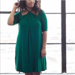 🔆NWT🔆Kiyonna Green Serenade Dress